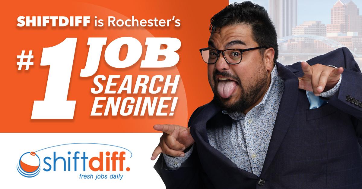 ShiftDiff is Rochester's #1 Job Search Engine